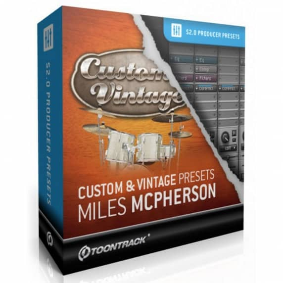 Toontrack Custom & Vintage Presets Miles McPherson (Serial Download)