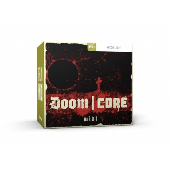 ToonTrack Doom Core MIDI (Serial Download)