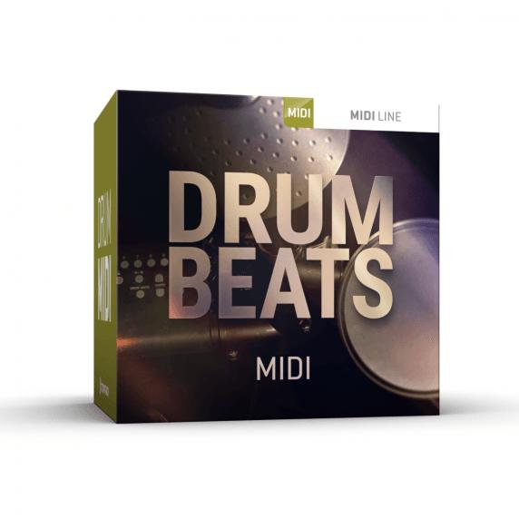 Toontrack Drum Beats MIDI Drum Pack