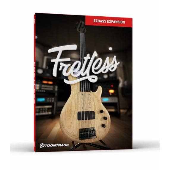 Toontrack EBX Fretless - EZbass Expansion (Serial Download)
