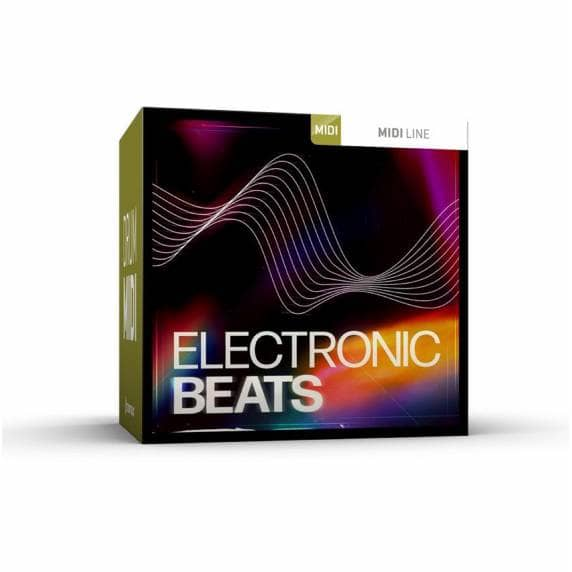Toontrack Electronic Beats Drum MIDI Pack (Serial Download)