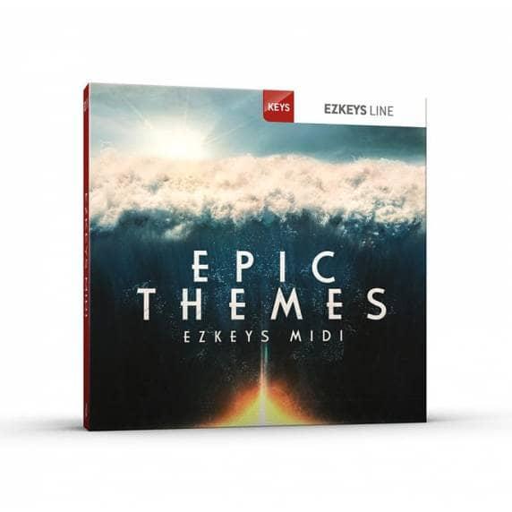 ToonTrack Epic Themes 2 EZkeys MIDI