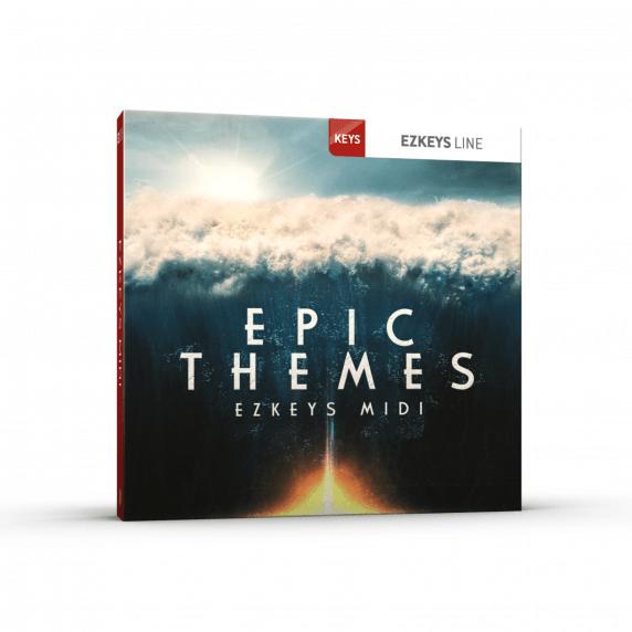 Toontrack Epic Themes EZKeys MIDI Pack