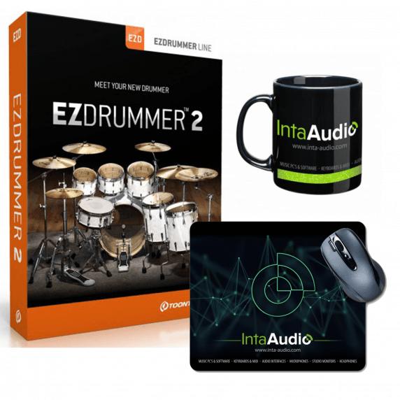 Toontrack EZ Drummer 2 (Serial Download) & Inta Audio Mug / Mousemat