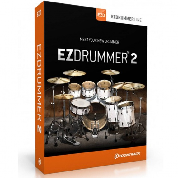 Toontrack EZ Drummer 2 Virtual Drum Software (Serial Download)