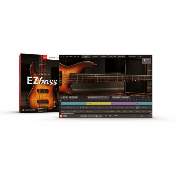 Toontrack EZBass - Virtual Bass Instrument EDUCATIONAL (Serial Download)