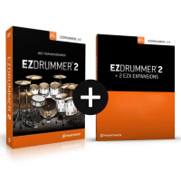 Toontrack EZdrummer 2 + 2 EZX Expansion Packs of Choice (Serial Download)