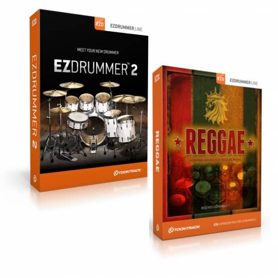 Toontrack EZdrummer 2 and EZX Reggae Expansion (Serial Download)