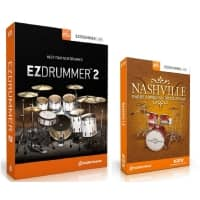 Toontrack EZdrummer 2 and Nashville Expansion (Serial Download)