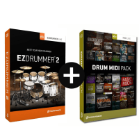 Toontrack EZdrummer 2 & Drum Midi Pack of Choice (Serial Download)