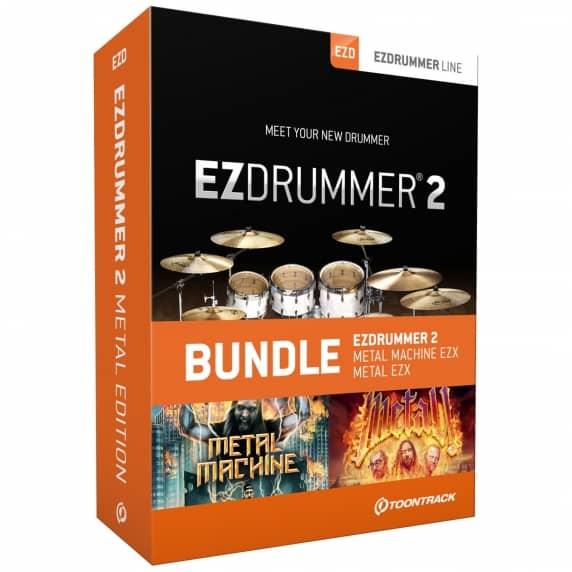 Toontrack EZdrummer 2 Metal Edition (Serial Download)