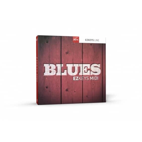Toontrack EZkeys Blues MIDI Pack (Serial Download)