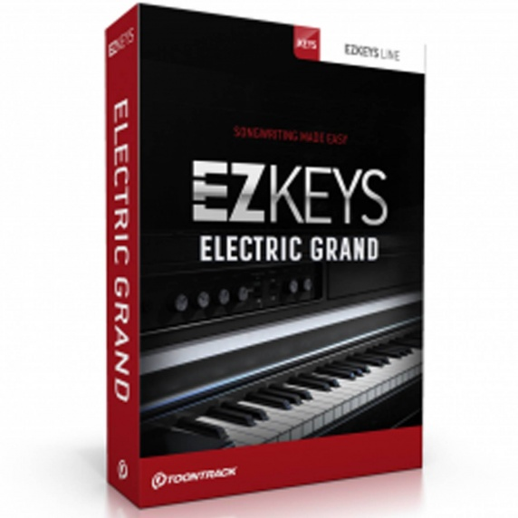 ToonTrack EZkeys Electric Grand - Virtual Instrument Software