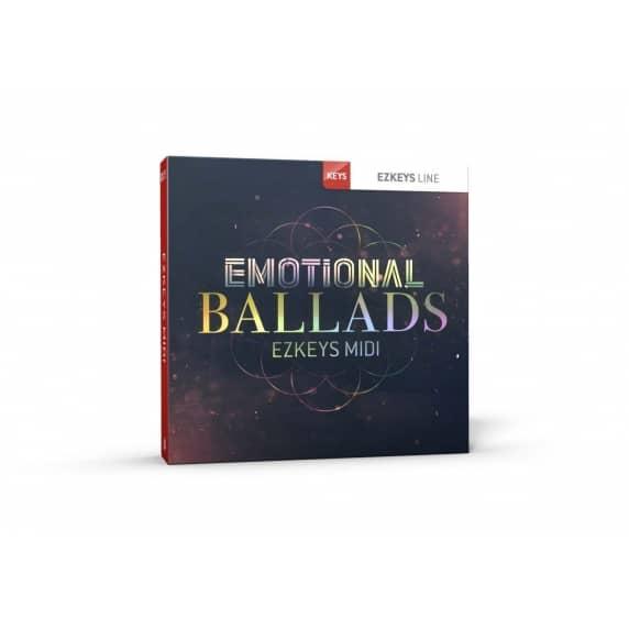 Toontrack EZkeys Emotional Ballads MIDI Pack (Serial Download)