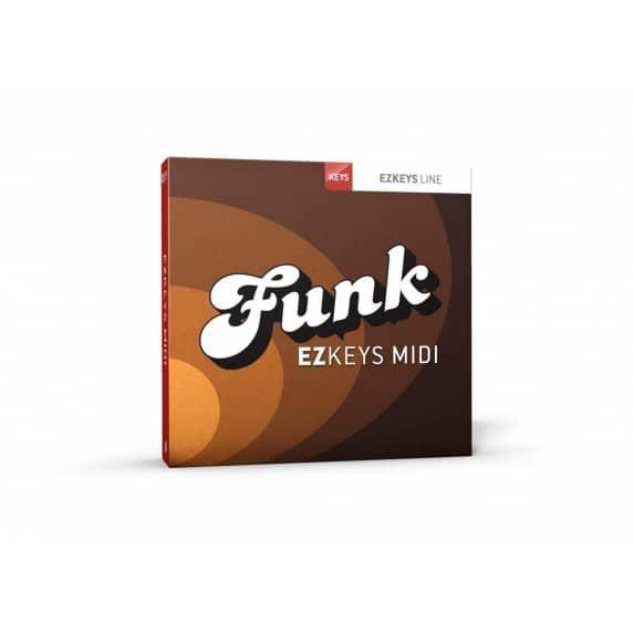 Toontrack EZKeys Funk MIDI Pack (Serial Download)