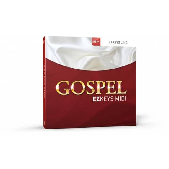 Toontrack EZkeys Gospel MIDI Pack (Serial Download)