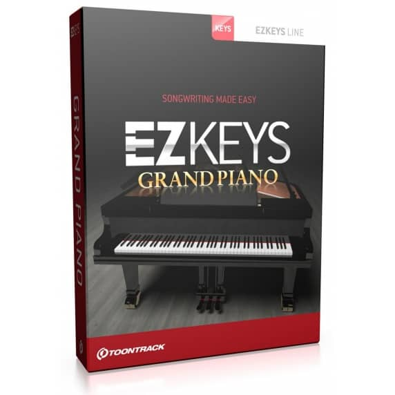 Toontrack EZkeys Grand Piano EDUCATION - Single Licence (Serial Download)