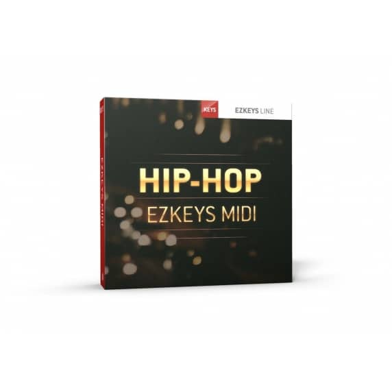 Toontrack EZkeys Hip Hop MIDI Pack (Serial Download)