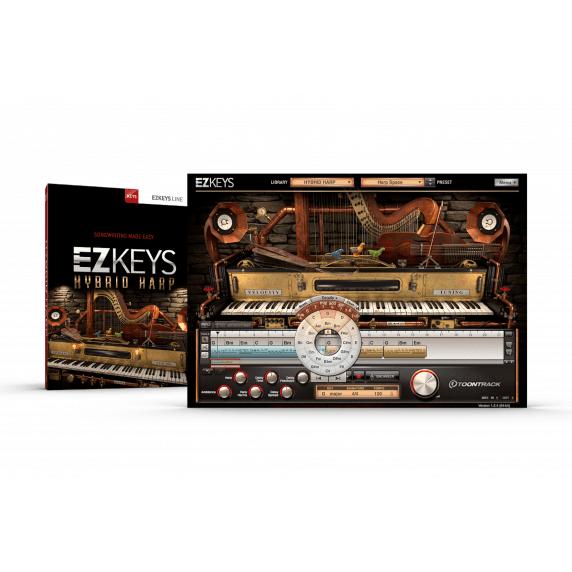 Toontrack EZKeys Hybrid Harp (Serial Download)