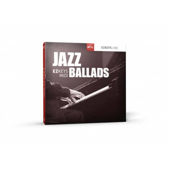 Toontrack EZkeys Jazz Ballads MIDI Pack (Serial Download)