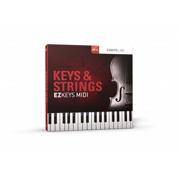Toontrack EZkeys Keys & Strings MIDI Pack (Serial Download)