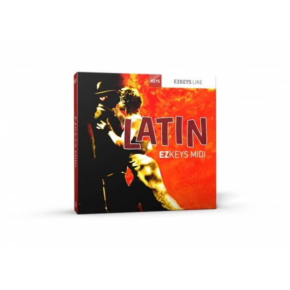 Toontrack EZKeys Latin MIDI Pack (Serial Download)
