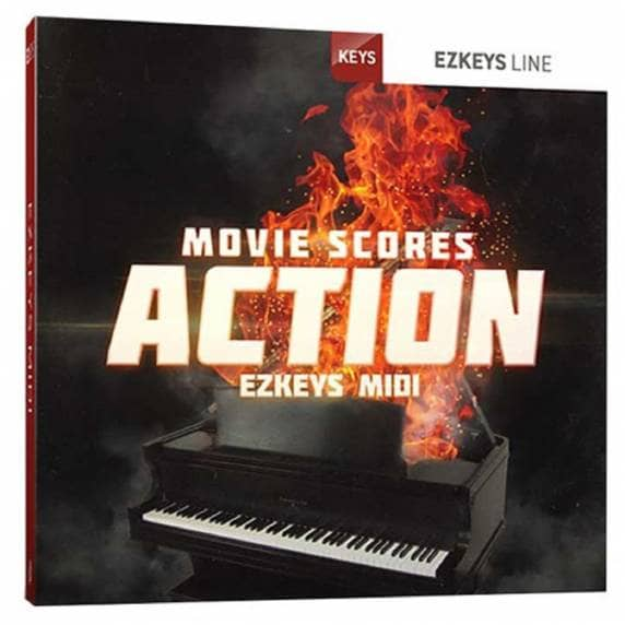 ToonTrack EZKeys Movie Scores Action MIDI (Serial Download)