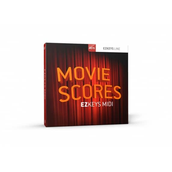 Toontrack EZkeys Movie Scores MIDI Pack (Serial Download)