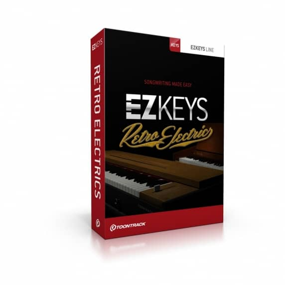 Toontrack EZkeys Retro Electrics EDUCATION (Serial Download)