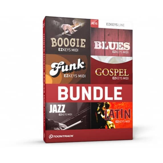 Toontrack EZkeys Roots Music - MIDI 6 Pack (Serial Download)