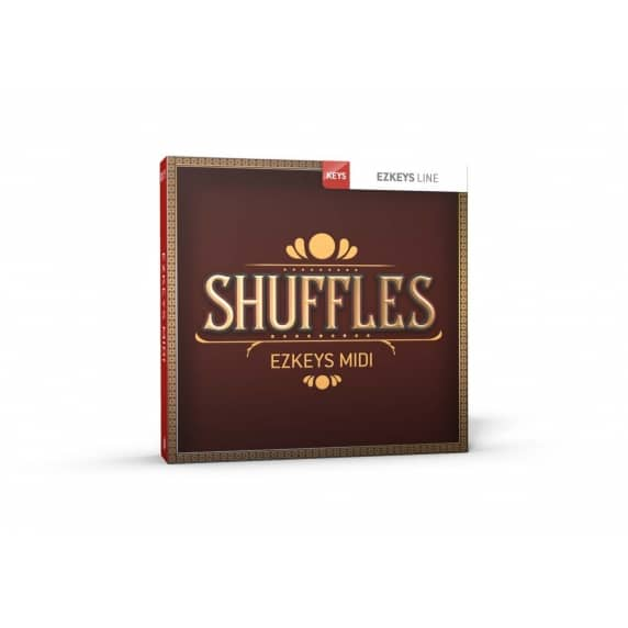 Toontrack EZkeys Shuffles MIDI Pack (Serial Download)