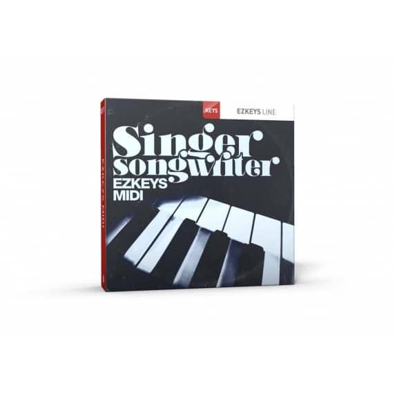 Toontrack EZkeys Singer Songwriter MIDI Pack (Serial Download)