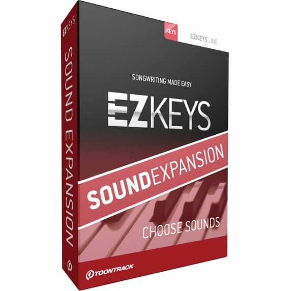 Toontrack EZkeys Sound Expansion (Serial Download)