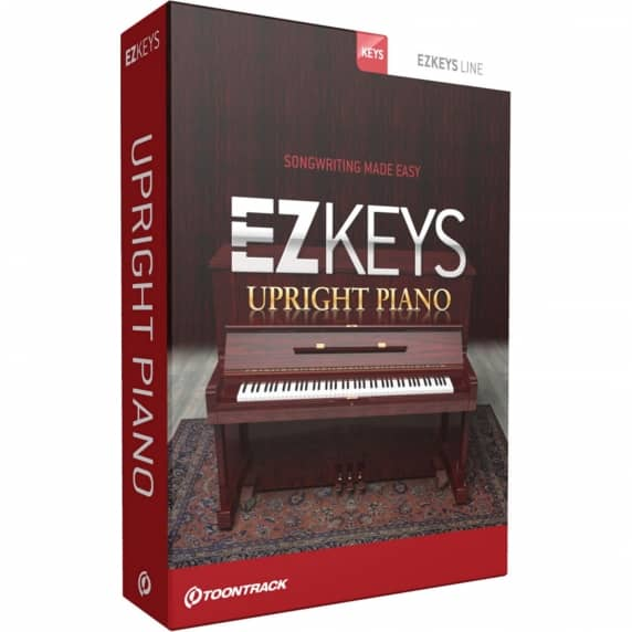 Toontrack EZkeys Upright Piano (Serial Download)