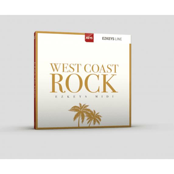 Toontrack EZkeys West Coast Rock MIDI Pack (Serial Download)