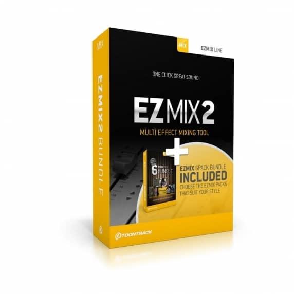 Toontrack EZmix 2 and Preset Packs Bundle (Serial Download)