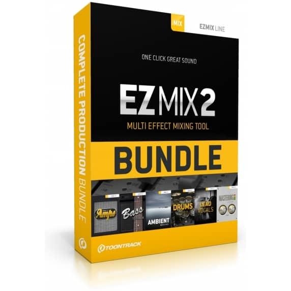 Toontrack EZmix 2 Complete Production Bundle (Serial Download)