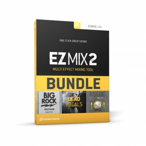 Toontrack Ezmix 2 Ignition Kit 3 Pack (Serial Download)
