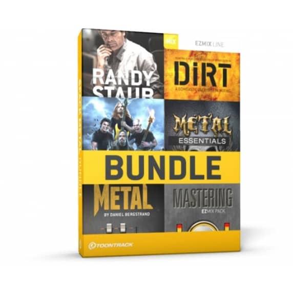 Toontrack EZmix 2 Metal 6 Pack Bundle (Serial Download)