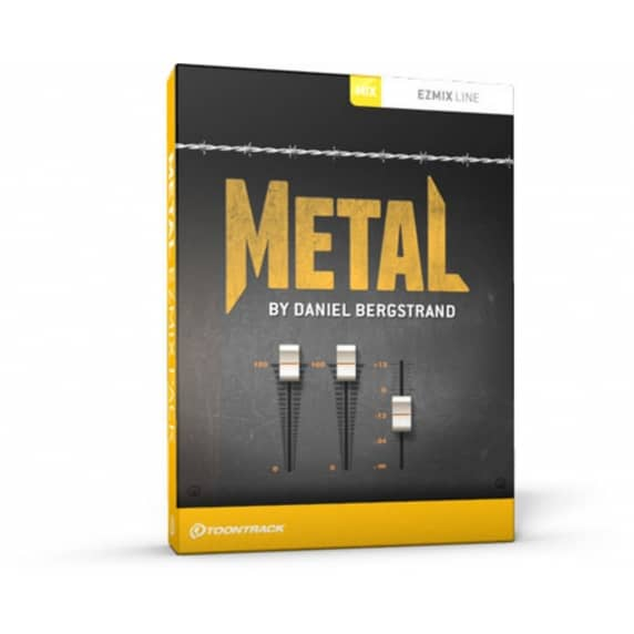 Toontrack EZmix 2 Metal by Daniel Bergstrand 2 (Serial Download)