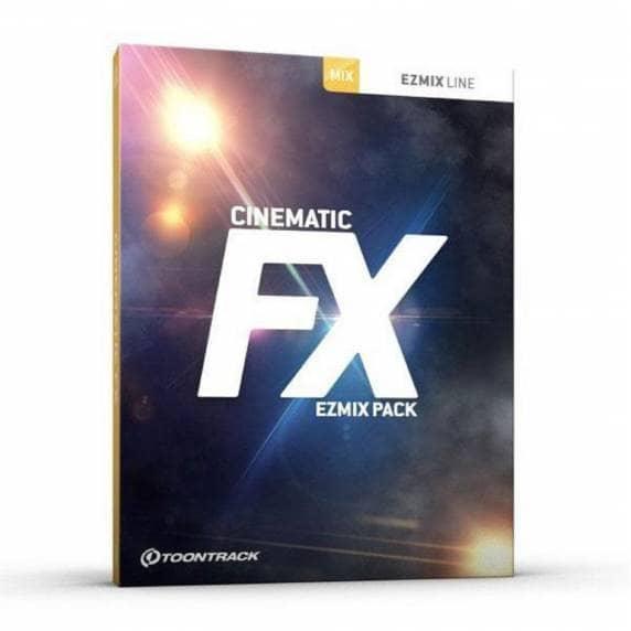 ToonTrack EZMix 2 Pack Cinematic FX (Serial Download)