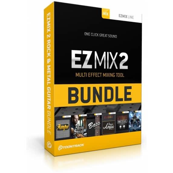 Toontrack EZMix 2 Rock & Metal Guitar Bundle (Serial Download)