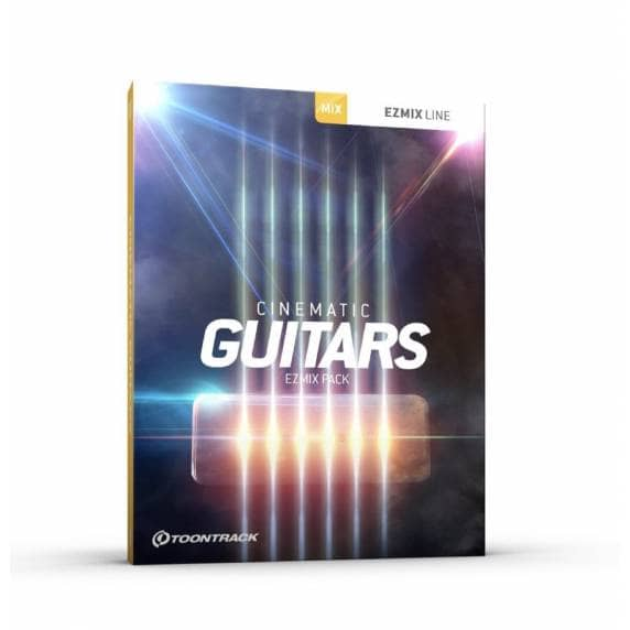 Toontrack EZmix Pack Cinematic Guitars (Serial Download)