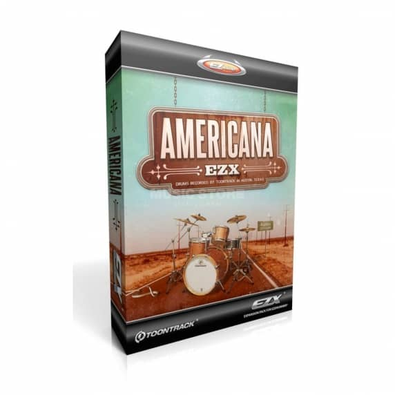 Toontrack EZX Americana - Expansion for EZ Drummer (Serial Download)