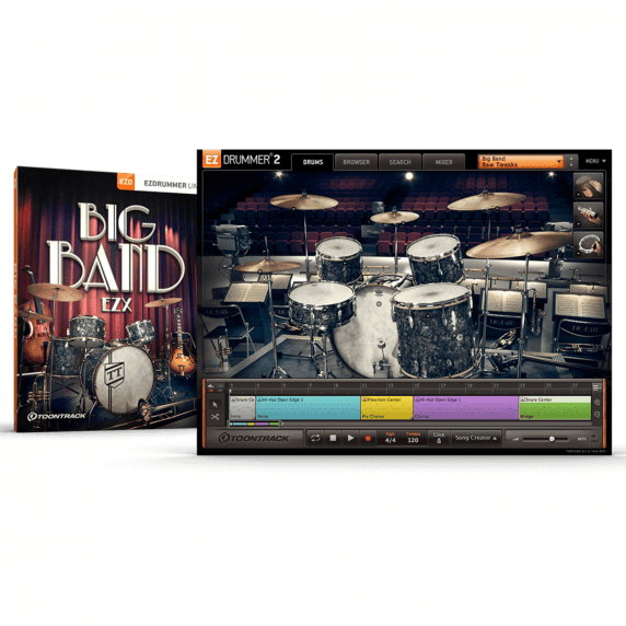 Toontrack EZX - Big Band EDUCATION (Serial Download)