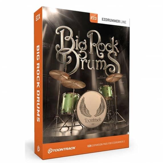 Toontrack EZX Big Rock Drums - EZdrummer 2 Expansion (Serial Download)