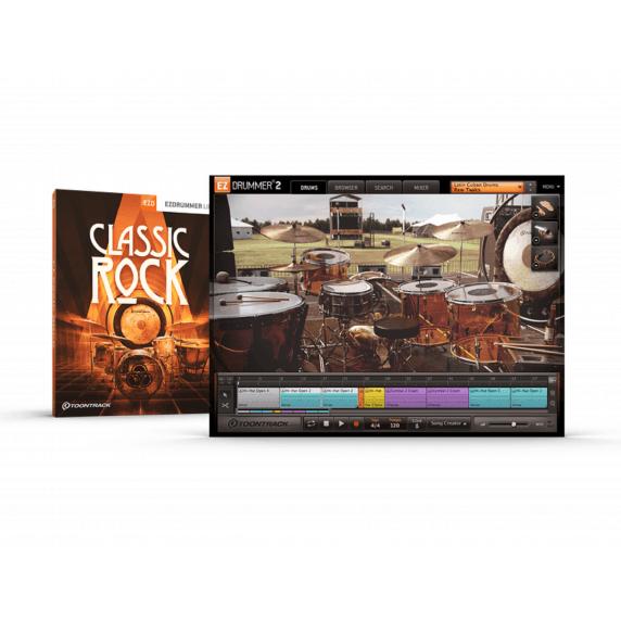 Toontrack EZX Classic Rock (Serial Download)