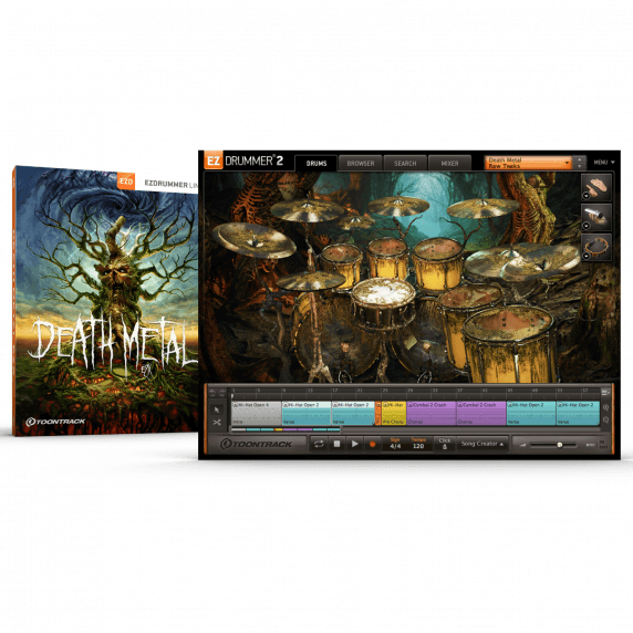 Toontrack EZX: Death Metal (Serial Download)
