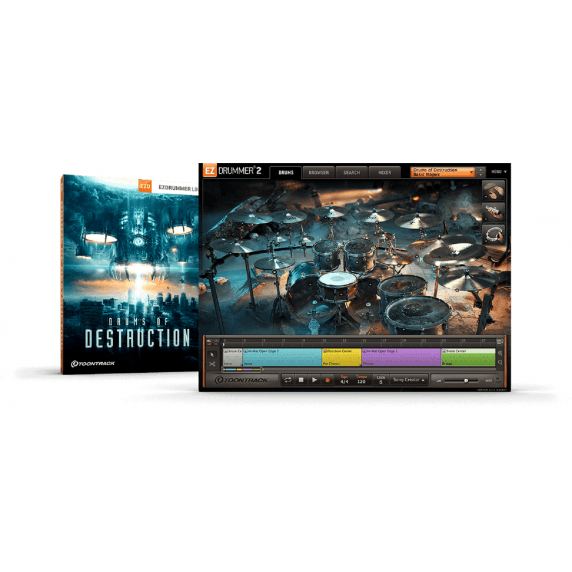 ToonTrack EZX Drums Of Destruction (Serial Download)