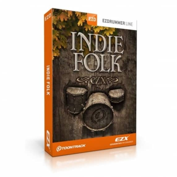Toontrack EZX Indie Folk- EZdrummer 2 Expansion (Serial Download)